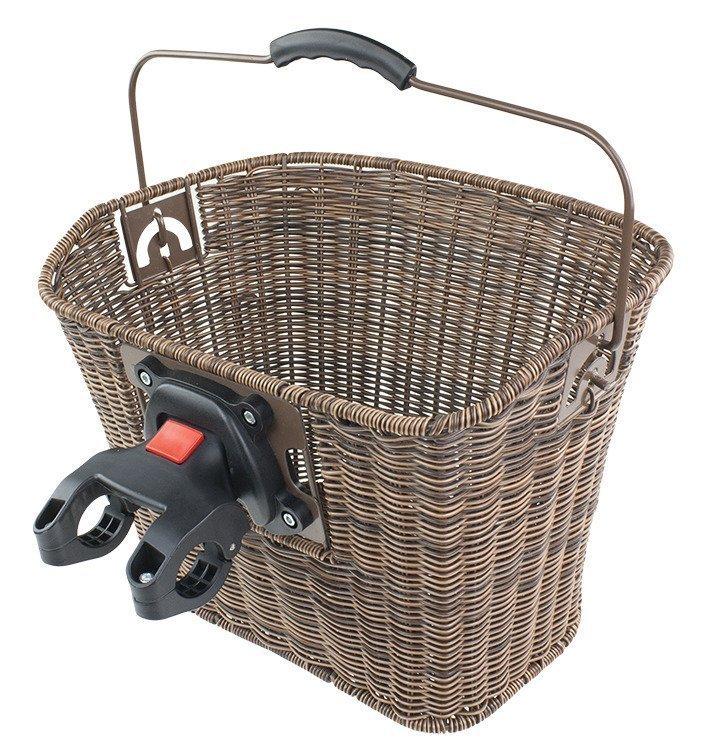 fahrradkorb vorne einkaufskorb 35x25x26 cm mit. Black Bedroom Furniture Sets. Home Design Ideas