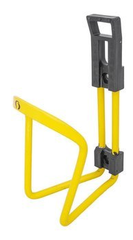 Alu Star Water Bottle Cage Yellow