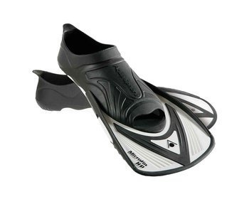 Aqua Sphere Microfin HP Swim Training Fin Black / White
