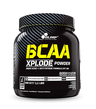 BCAA Xplode 500g orange