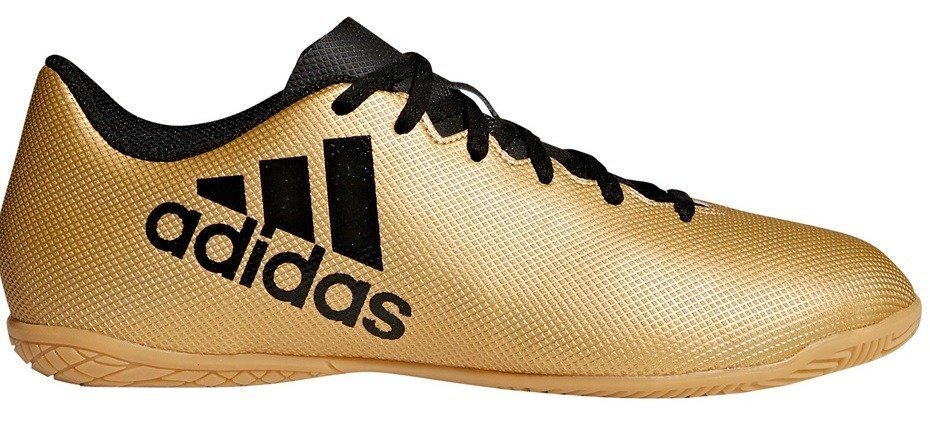 Futsal Shoes Adidas X Tango 17,4 IN Jr 9149 Junior Indoor Soccer Shoes Gold