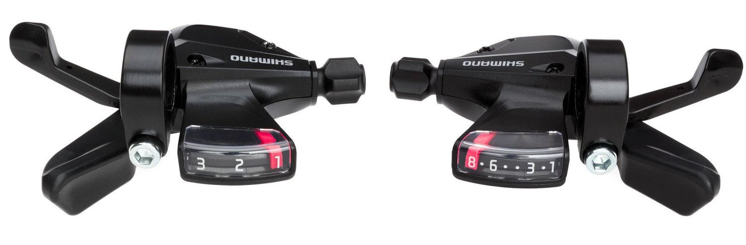 Gear Shift Levers Shimano Altus SL-M310 3 x 8 Speed Shifters Set 260 g