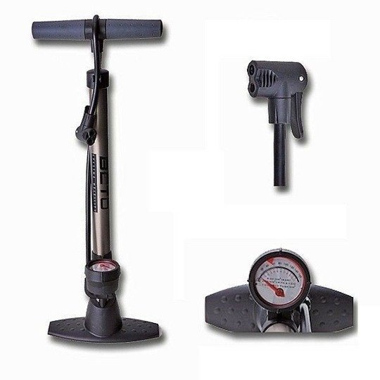 Beto CMP-069 160psi Aluminium Floor Pump with Manometer