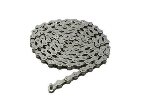 "Bicycle Chain 1/2""x1/8"" 112 links KMC 410 1 speed Pin 8.6mm"