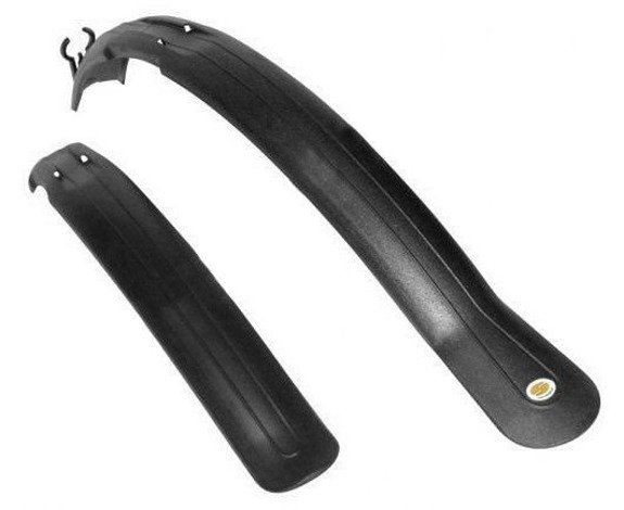 Simpla Next V-brake Mudguards Set Black 26'' - 28''