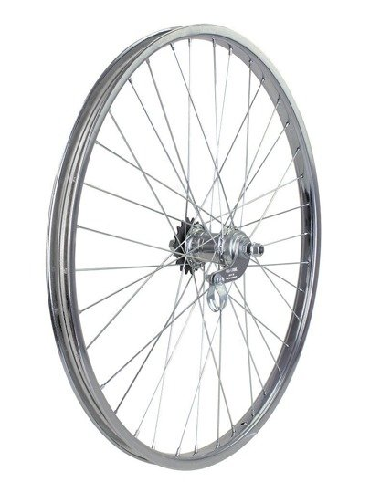 "Steel Rear Bicycle Wheel 28"" Favorit"