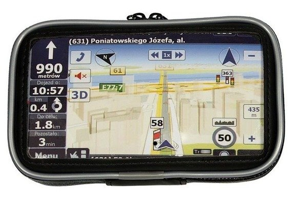 "Waterproof GPS Etui MC-306 3.5"" - 4.5"""