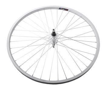 "Aluminum Rear Bicycle Wheel 26"", Aluminum hub, silver"