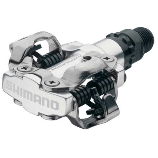 Shimano Pedale Shimano Deore SPD M520 S Silber MTB Pedale